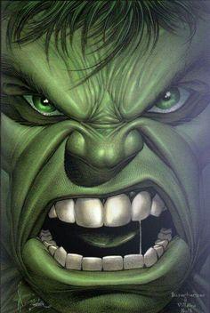 hulk close up - Comic style Comic Book Characters, Comic Book Heroes, Marvel Characters, Comic Character, Comic Books Art, Comic Art, Fictional Characters, Hulk Comic, Hulk Marvel