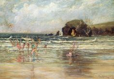 "Thomas Maybank (exh. 1898-1912 ) -  ""Come Unto these Yellow Sands"", 1906"