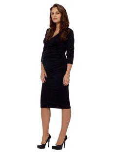 Ruched Midi Dress by Eva Alexander on Gilt.com