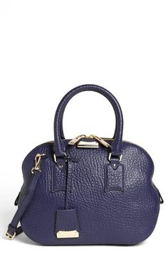 Burberry Small Satchel in Blue - available through Nordstrom