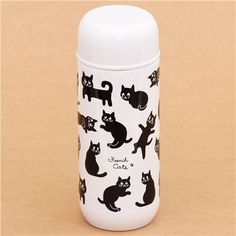 white French cats Thermo bottle from Japan 200ml 1