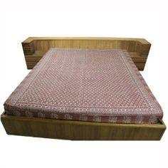 Tissu d'ameublement - Drap de lit marron en coton 218 x 264 cm: Amazon.fr: Cuisine & Maison