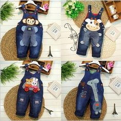 Spring Autumn kids overall jeans clothes newborn baby bebe denim overalls jumpsuits for toddler infant boys girls bib pants - Kid Shop Global - Kids & Baby Shop Online - baby & kids clothing, toys for baby & kid Baby Bibs Patterns, Animal Sewing Patterns, Sewing Patterns For Kids, Doll Clothes Patterns, Sewing For Kids, Doll Patterns, Clothing Patterns, Newborn Outfits, Baby Boy Outfits