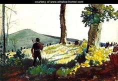 The Pioneer - Winslow Homer - www.winslow-homer.com