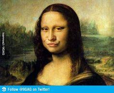 If Mona Lisa was posing today