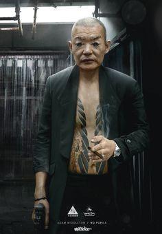 #cyberpunk #art #graphic #future #art #concept_art #Ghost_In_The_Shell #cyberpunk #character #cyborg #cybernetics #Dane_Madgwick #Adam_Middleton