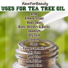 Tea Tree Oil is great stuff!