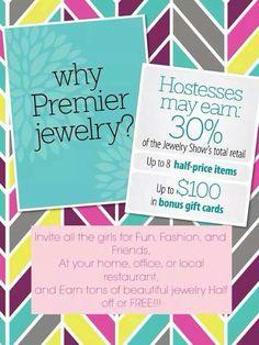 Editable Premier Designs Jewelry Party Invitation - Download, add ...