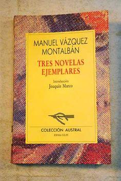 Tres novelas ejemplares.