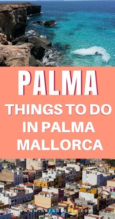 Looking for things to do in Palma, Mallorca? Here are a few things to do in Palma such beaches, the cathedral and the old town. Europe Travel Tips, Spain Travel, Vacation Trips, Dream Vacations, Cool Places To Visit, Places To Travel, Spain Destinations, Spanish Islands, European City Breaks