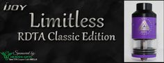 Bella Vapes Reviews: Ijoy Limitless RDTA Classic Edition Review