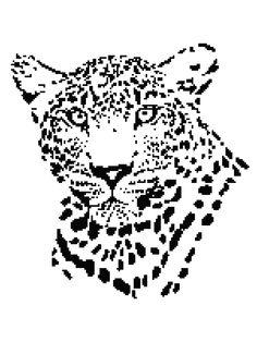 Cheetah Blanket Pattern