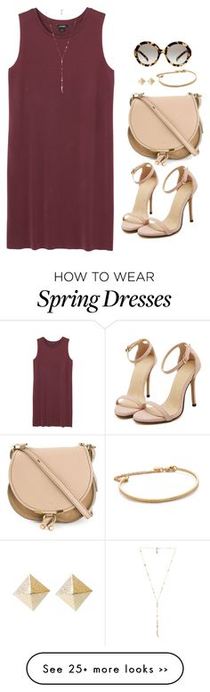 """Untitled 233 (Spring/Summer)"" by maddkat on Polyvore featuring Monki, Ettika, Prada, Chloé and Gorjana"