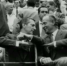 Un presidente al que no le daba complejo ir a los toros. Descansa en paz, Adolfo Suárez. #Suarez