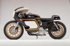 Harley-Davidson Cafe Racer #motorcycles #caferacer #motos | caferacerpasion.com