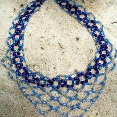Lace Necklace, Beading Tutorial in PDF
