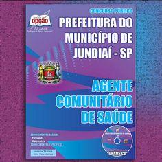 Apostila Concurso Prefeitura do Município de Jundiaí / SP - 2015: - Cargo: Agente Comunitário de Saúde