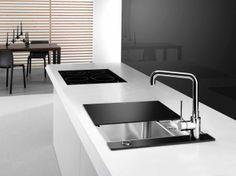 Spoelbak Blanco Statura 6-IF Crystal -  keuken ideeën | UW-keuken.nl  #spoelbak