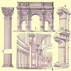 Architecture romaine.   #TuscanyAgriturismoGiratola