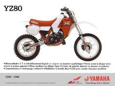 1986 Yamaha YZ80