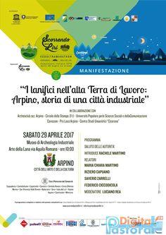 """SABATO 29 APRILE ORE 10 TUTTI AL MUSEO DI ARCHEOLOGIA INDUSTRIALE-ARTE DELLA LANA AD ARPINO. Nell'ambito del progetto """"ECOULTRAMARATON SCORRENDO CON IL LIRI"""", ad Arpino è stato organizzato, insieme all'Archeoclub sede di Arpino e Pro Loco, il convegno """"I LANIFICI NELL'ALTA TERRA DI LAVORO :ARPINO, STORIA DI UNA CITTA' INDUSTRIALE"""", nel corso del quale si …"""