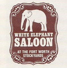 White Elephant Saloon, The Stock Yards. Had some good times there! Red hatters got thrown out there once for being too loud!