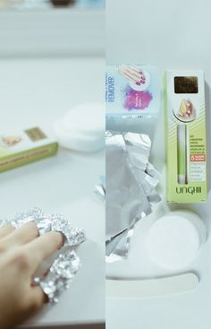 How to remove your semi-permanent nail polish  using cotton discs, nail polish remover and aluminium foil #nails #nailpolish #semipermanentnailpolish #nailpolishremover #nailtreatment Nail Polish, Nail Treatment, Semi Permanent, Nails, How To Remove, Beauty, Instagram, Finger Nails, Ongles