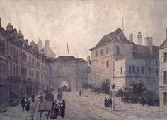 La Porte Prescott vers 1850