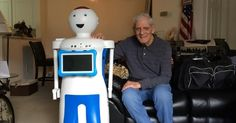 Rudy Assistive Robot Helps Elderly Age in Place