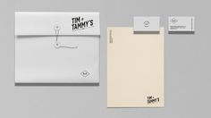 Tim & Tammy's - Brand Packaging on Behance