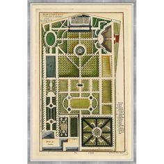 garden book ancient garden drawings Pinterest Gardens and