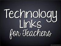 Technology Links For Teachers http://pinterest.com/mrsorman/1-1-technology/