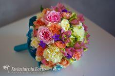 Kwiaciarnia Borto - Kolorowe kontrasty