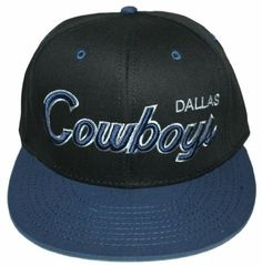 Dallas Cowboys NEW Vintage Snapback Hat Authentic Cap by NFL.  17.99. one  size fits 8f11f6c2e15a