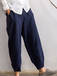 Casual Bottoms – vintagevova outfits cute pants pants outfits overall fashion Cotton Pants, Linen Pants, Fleece Pants, Casual Pants, Casual Tops, Overall Jumpsuit, Denim Overall, Maxi Robes, Plus Size Pants