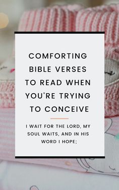 Find comfort in these Bible verses when you're trying to conceive or struggling with infertility. These Bible verses can help calm your heart when you're trying to get pregnant by offering reminders to trust, hope, and have faith. Trying To Get Pregnant, Pregnant Mom, Getting Pregnant, Prayer To Get Pregnant, Comforting Bible Verses, Lamaze Classes, Pregnancy Information, Conceiving, Trying To Conceive
