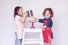 Cute aprons for kids by Max and Ella