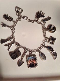 Pretty Little Liars charm bracelet by TvTreasures on Etsy