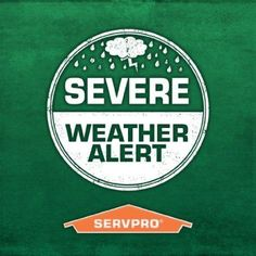 SERVPRO of Decatur / Forsyth Professionals are available 24 days a week and will respond quickly to a restoration emergency, whether it is water, fire or mold. Weather Crafts, Litchfield County, 24 Hour Service, Weather Alerts, Restoration Services, Marketing Materials, Marketing Ideas, Severe Weather, Clean Up
