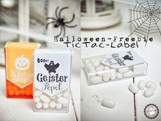 Halloween tictac Geister-Popel