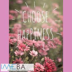 """Buenos días:  Si tú quieres en #IMEBA te ayudamos para que """"te sientas más feliz"""""""