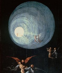 Hieronymus Bosch, Detail of Ascent of the Blessed, late 15th century or early 16th century