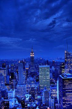 Night in Manhattan, NYC