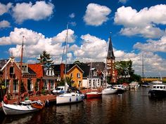 Friesland: Woudsend and Strand Horst - Boating holiday specials