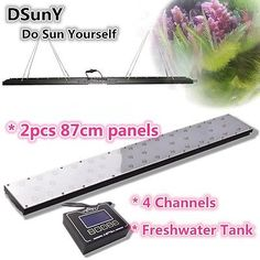 "DSunY 72"" Programmable LED Aquarium Light Fresh Water Aquarium LED Lighting,Moon - http://pets.goshoppins.com/fish-aquariums/dsuny-72-programmable-led-aquarium-light-fresh-water-aquarium-led-lightingmoon/"