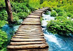 Eurographics Fototapete »Stairway To Heaven I«, 366/254 cm für 69,99€. Motiv: Treppe zum Himmel, Großformatige und effektvolle Motive bei OTTO