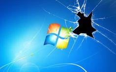 fake cracked screen pc