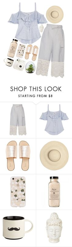 """ERI"" by pure-and-valuable ❤ liked on Polyvore featuring Zimmermann, Veronica Beard, L.E.N.Y., Sonix, Fuji and Pier 1 Imports"