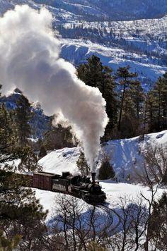 Durango and Silverton (Colorado) Narrow Guage Railroad