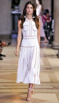 Superb Shows at Carolina Herrera, Tommy Hilfiger, Zac Posen, and More Wake Us Up at #NYFW from InStyle.com